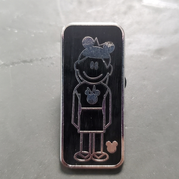 Girl with Mouse Ears pin
